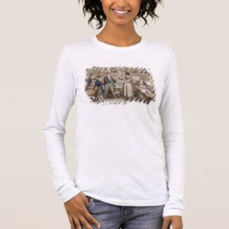 T-shirt À Manches Longues Le salon de Cribb : Tom présentant Jerry et la