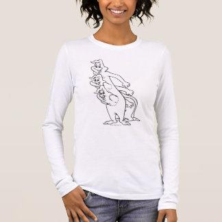 T-shirt À Manches Longues Le trio fantomatique 9