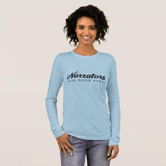 T-shirt À Manches Longues Les narrateurs donnent la bonne longue douille