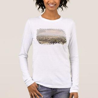 T-shirt À Manches Longues Les pyramides au Caire, gravé par Daniel Havell (