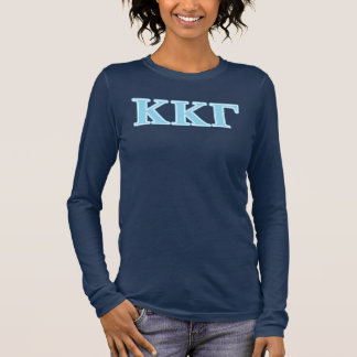 T-shirt À Manches Longues Lettres gamma de bleus layette de Kappa de Kappa