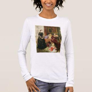 T-shirt À Manches Longues L'institutrice, 1860 (huile sur la toile)