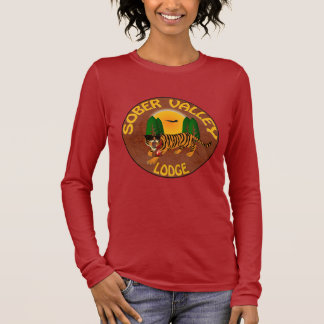 T-shirt À Manches Longues Loge sobre de vallée