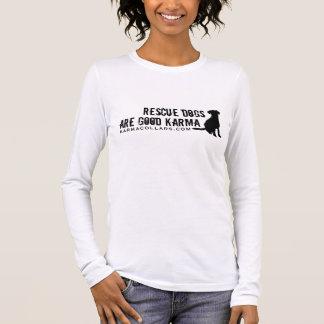 T-shirt À Manches Longues Logo T de colliers de karma