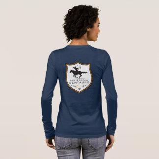 T-shirt À Manches Longues Longsleeve des femmes de centaures de la