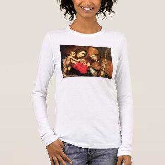 T-shirt À Manches Longues Madonna et enfant avec St Zenobius