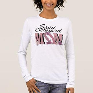 T-shirt À Manches Longues Maman de St Bernard - Mae