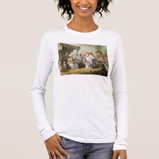 T-shirt À Manches Longues Marché de toile, Roseau, Dominique, c.1780