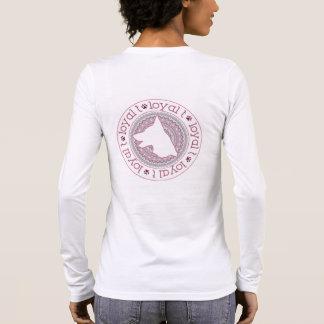 T-shirt À Manches Longues Marque loyale de t - long médaillon 1 de douille
