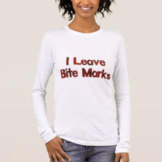 T-shirt À Manches Longues Marques de morsure