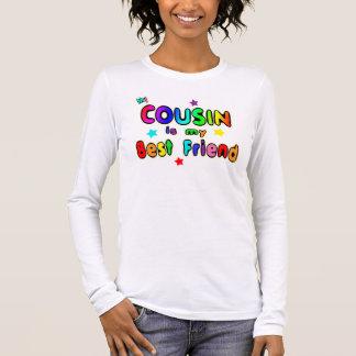 T-shirt À Manches Longues Meilleur ami de cousin