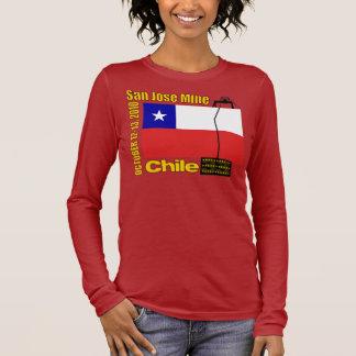 T-shirt À Manches Longues Mine de San Jose, délivrance de mineur du Chili -