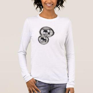T-shirt À Manches Longues Miroir-Disco-Ball