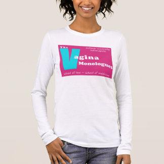 T-shirt À Manches Longues Monologues Indianapolis de vagin