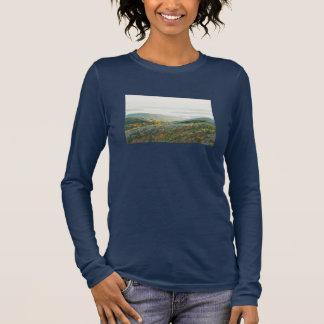 T-shirt À Manches Longues Montagne de Cadillac dans l'automne, parc national