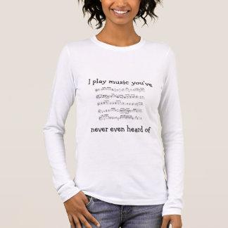 T-shirt À Manches Longues mozart_kv356, je joue le hea de you'venever de