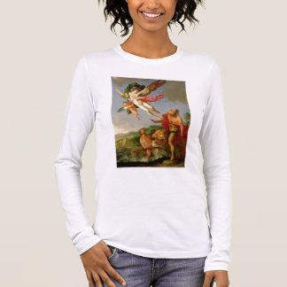 T-shirt À Manches Longues Neptune poursuivant Coronis, 1665-70 (huile sur la