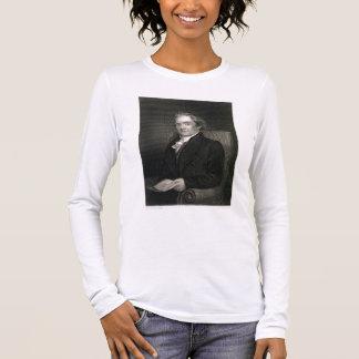 T-shirt À Manches Longues Noah Webster (1758-1843) gravé par Frederick W.