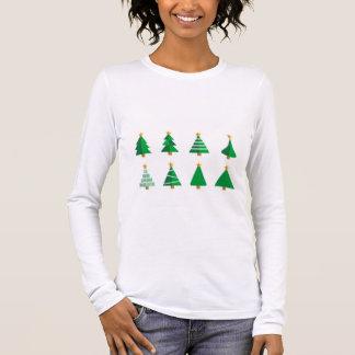 T-shirt À Manches Longues Noël simple Longsleeve