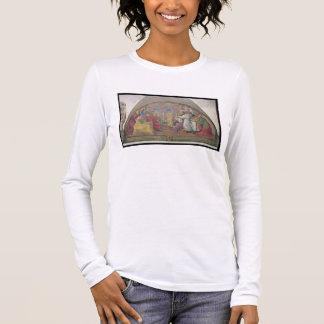 T-shirt À Manches Longues Pape Eugene IV consacrant le couvent de San mars