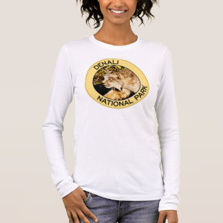 T-shirt À Manches Longues Parc national de Denali