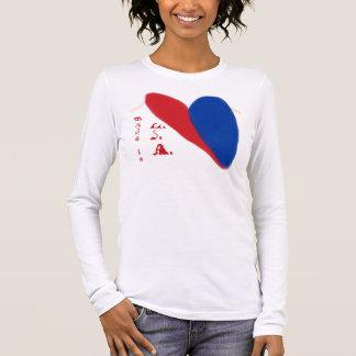 T-shirt À Manches Longues Patriotique