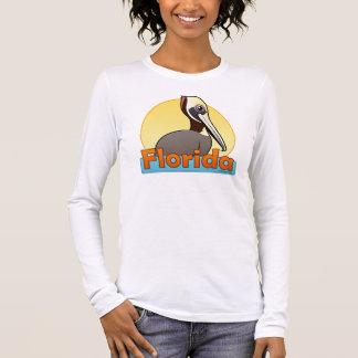T-shirt À Manches Longues Pélican personnalisable de FL Brown