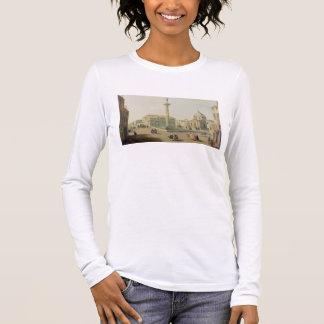 T-shirt À Manches Longues Piazza Colonna, Rome