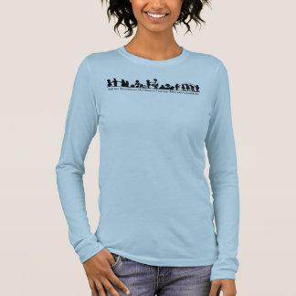 T-shirt À Manches Longues Pièce en t de long-douille d'ADMTEI
