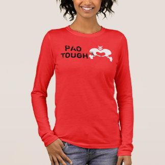 T-shirt À Manches Longues Pièce en t dure de douille de PAO longue