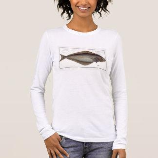 T-shirt À Manches Longues Plat XLVII franc de flétan (Hippoglossus de