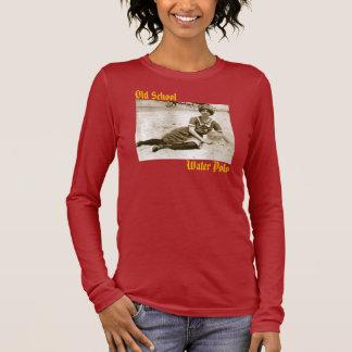 T-shirt À Manches Longues Polo d'eau des femmes de vieille école