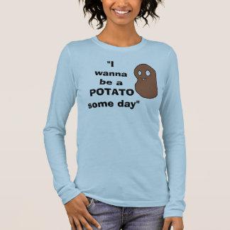 T-shirt À Manches Longues Pomme de terre