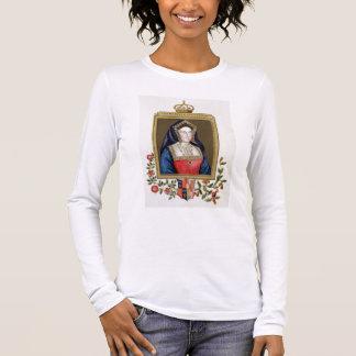 T-shirt À Manches Longues Portrait de Catherine d'Aragon (1485-1536) ęrs Qu