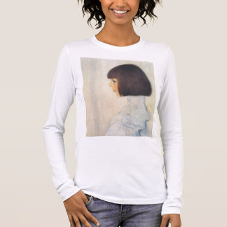 T-shirt À Manches Longues Portrait de Gustav Klimt de Helene Klimt