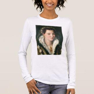 T-shirt À Manches Longues Portrait de Madame (huile sur le panneau) 2