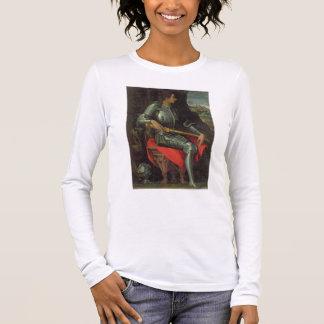 T-shirt À Manches Longues Portrait de Medici, 1534 d'Alessandro (huile sur