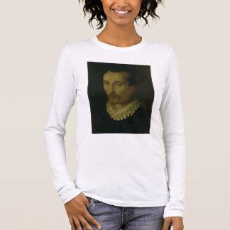 T-shirt À Manches Longues Portrait de Torquato Tasso, 1585-90 (huile sur le