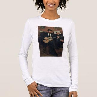T-shirt À Manches Longues Portrait d'Edgar Degas | des païens de Lorenzo