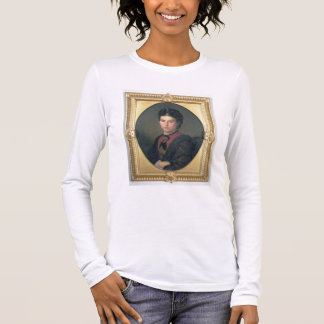 T-shirt À Manches Longues Portrait d'Emilia Sampieri, 1870 (huile sur la