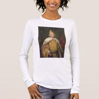 T-shirt À Manches Longues Portrait d'un doge (huile sur la toile)