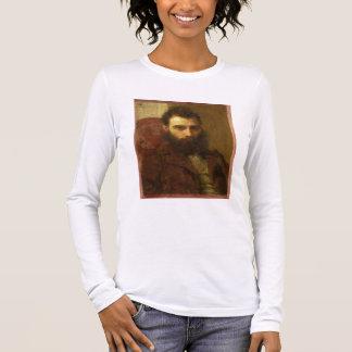 T-shirt À Manches Longues Portrait d'un homme (huile sur le panneau)