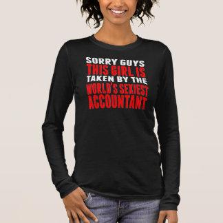 T-shirt À Manches Longues Pris par le comptable le plus sexy du monde