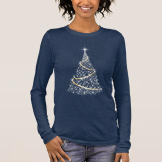 T-shirt À Manches Longues Profil sous convention astérisque d'arbre de