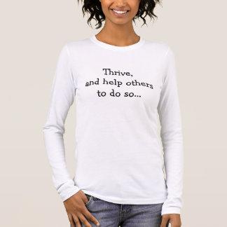 T-shirt À Manches Longues Prospérez !