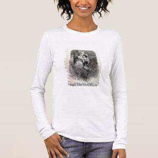 """T-shirt À Manches Longues Publicité pour """"Romeo et Juliet"""", tenant le"""