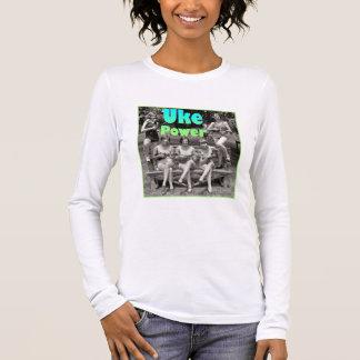 T-shirt À Manches Longues Puissance d'Uke