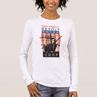 T-shirt À Manches Longues Révolte 2009 de thé