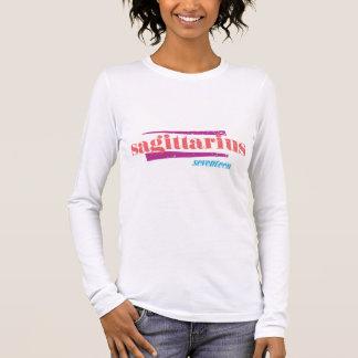 T-shirt À Manches Longues Rose de Sagittaire