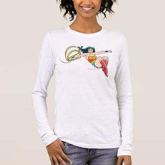 T-shirt À Manches Longues Sauter de femme de merveille